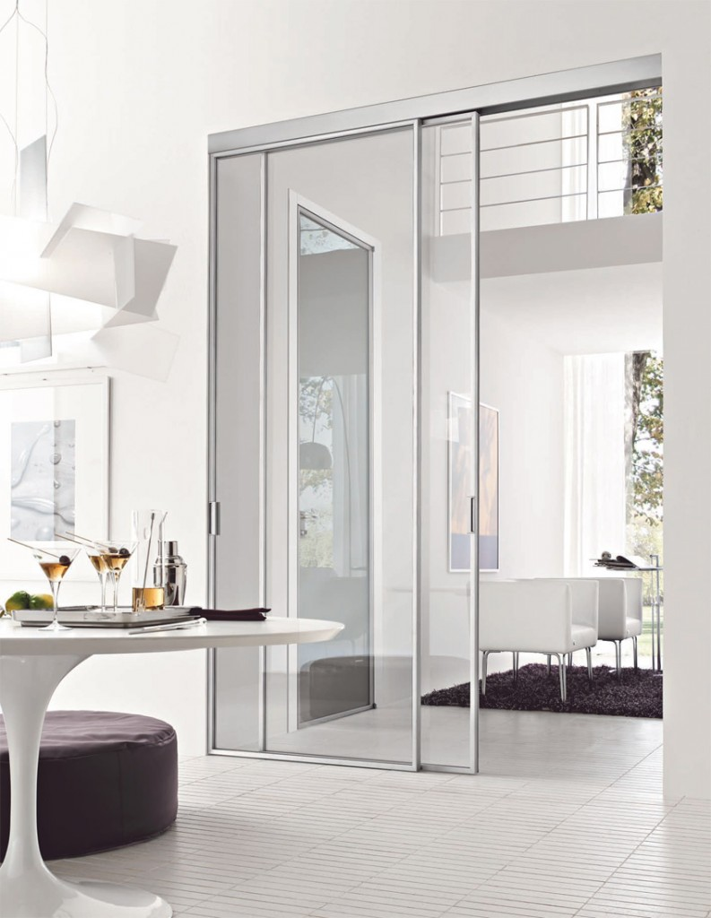 Stikla di door 2000 libert essenzialit e leggerezza - Door 2000 porte ...