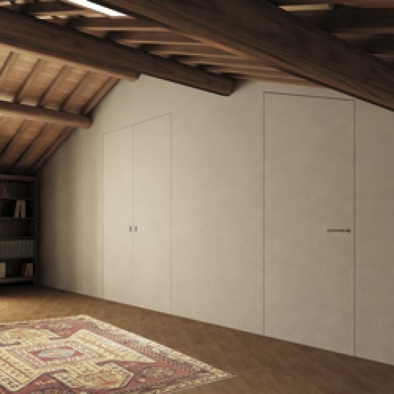 Sistemi raso parete personalizza e cambia i tuoi spazi for Porte filo muro cartongesso