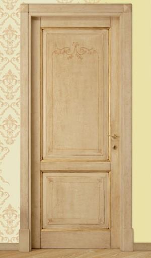 Porte per interni dal gusto antico idea porte oltre le - Porte decorate antiche ...