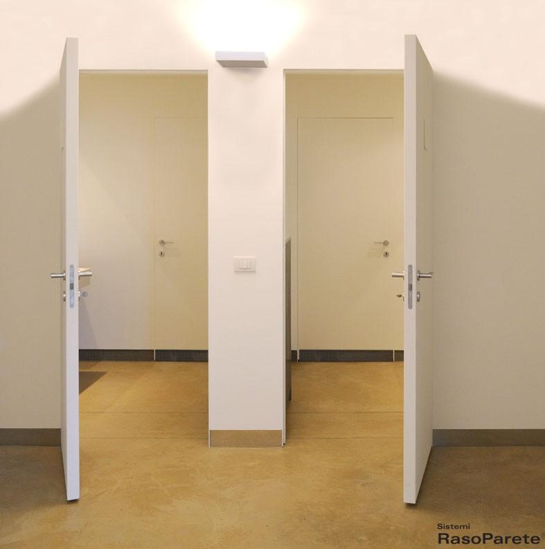 Porte di sistemi raso parete innovative e di design - Porte invisibili scorrevoli ...