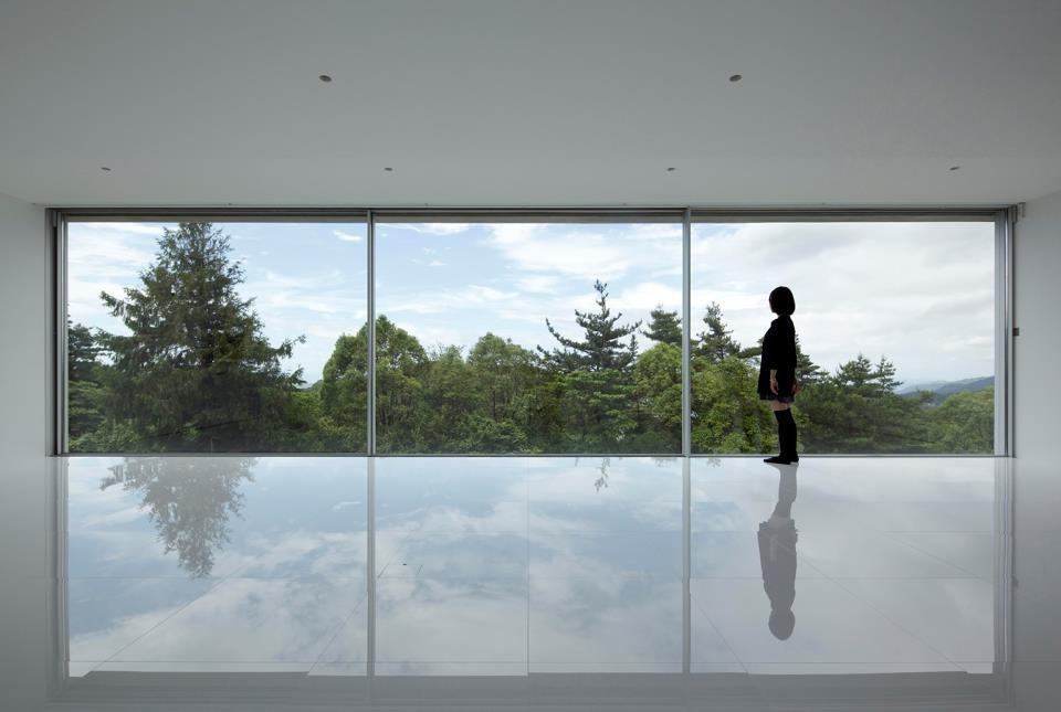 Design moderno per le finestre di panoramah oltre le porte - Fenetre panoramique prix ...