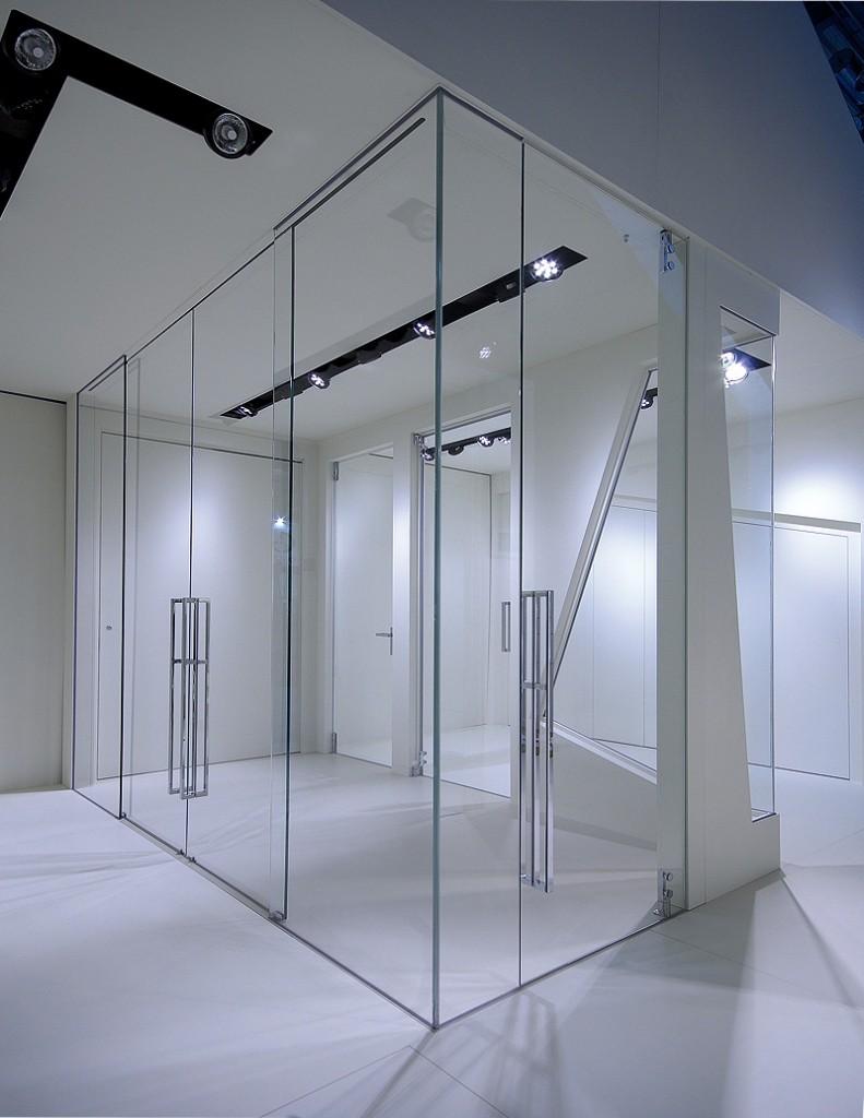 Sistemi raso parete trasforma il tuo spazio oltre le porte - Pareti interne in vetro ...