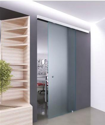 Glassy la porta in vetro con scorrevole in alluminio oltre le porte - Porta in cristallo scorrevole ...