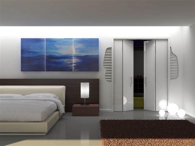 Cabina armadio il luogo ideale per il guardaroba oltre le porte - Porte scorrevoli per cabina armadio ...
