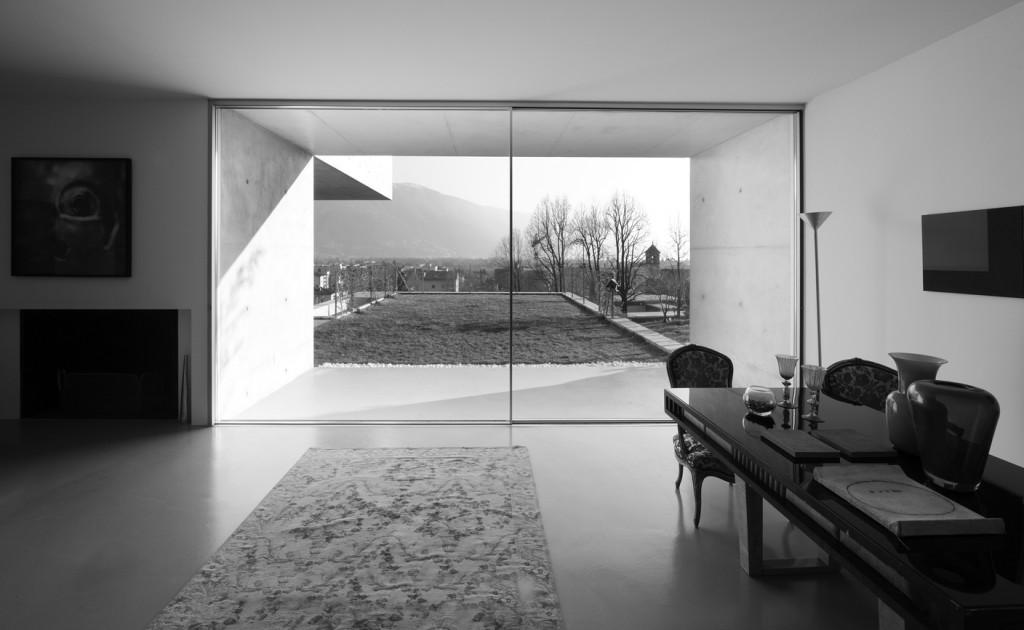 Infissi tutto vetro scorrevoli panoramah oltre le porte - Soglie per finestre moderne ...