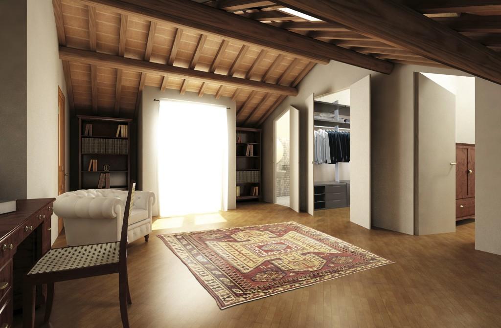 Sistemi raso pareti e le cabine armadio oltre le porte for Design moderno della cabina