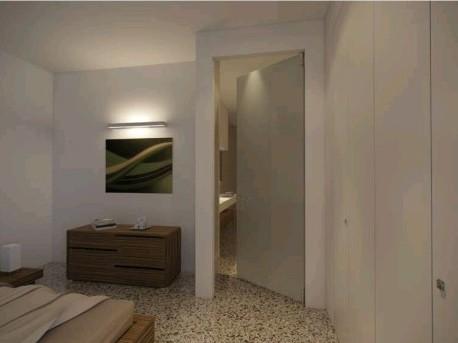 Porte di design e d arredo sistemi raso parete oltre le - Porte per bagni ...