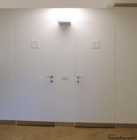 Sistemi raso parete oltre le porte - Porte raso muro ...